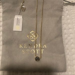 Kendra Scott Mabel Drusy Necklace RARE NEW w Tags